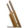 Suport din bambus cu 5 cuţite