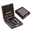 Set vin lux cu joc şah