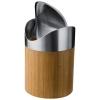 Coş de gunoi din bambus-oţel